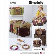 8710 Simplicity Pattern: Bag inn Two Sizes